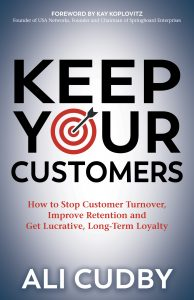 Keep Your Customers book by Ali Cudby
