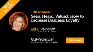 Ali Cudby on Gut + Science Podcast