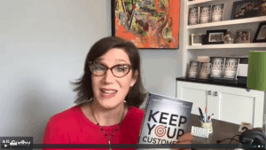 Virtual Launch Party - Bestselling Book Keep Your Customers 2020